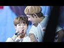Jungkook sings for Taehyung who has a cold (taekook/vkook)