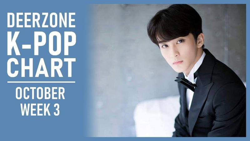 DEERZONE K-POP CHART   OCTOBER 2018   WEEK 3
