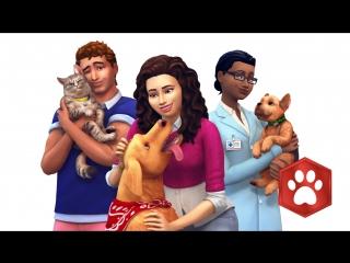 Трейлер The Sims 4 Кошки и собаки для Xbox One и PS4