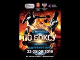 Чемпионат Уральского федерального округа по боксу среди мужчин 19-40 лет. 2 день.