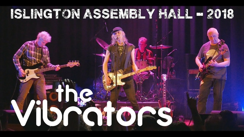 The Vibrators - Islington Assembly Hall. London. 2018