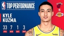 Kyle Kuzma Helps Lift the Lakers Over the Heat at Staples Center! December 10, 2018 NBANews NBA Lakers