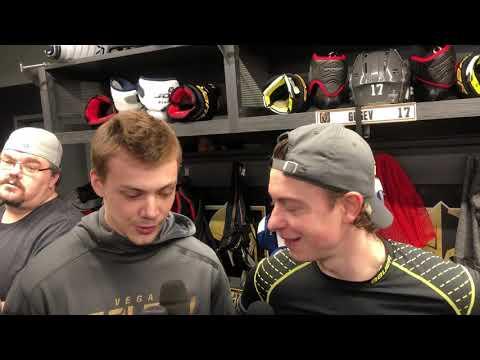 Первое интервью Никиты Гусева в НХЛ