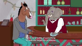 Bojack Drinking