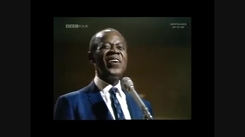 Louis Armstrong What A WonderfuL WorLd BBC ChanneL 1967