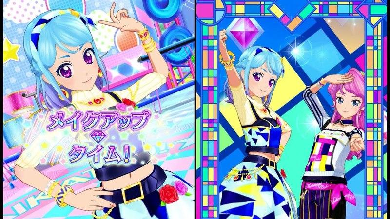 Aikatsu Friends! MioMaika | Material Color