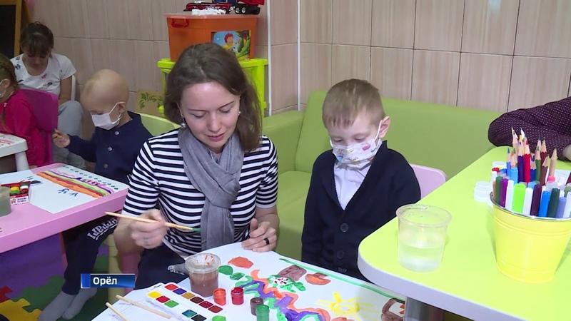 Краски добра в отделении детской онкологии и гематологии
