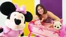 Minnie Mouse bebek Gül'e yeni beşik getiriyor!