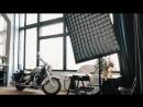 Фотостудия с мотоциклом в Минске