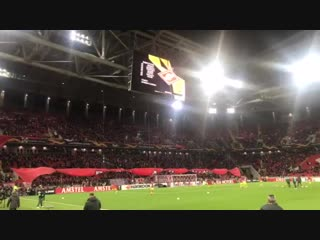 Фанаты «Спартака» кричат фамилию Карреры