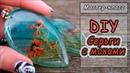 Украшения из эпоксидной смолы Cernit и сухоцветов ❤ Серьги с маками ❤ Мастер-класс