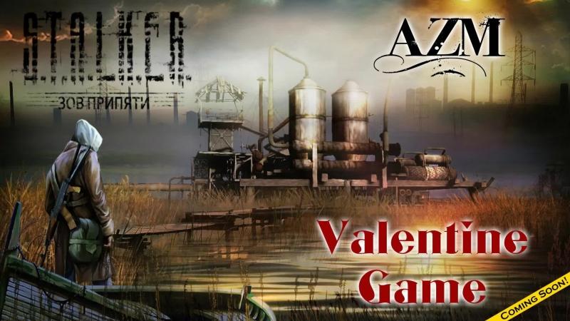 STALKER Call of Pripyat AZM Валентина и 3й день в зоне Valentine game Follow