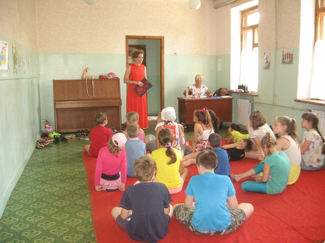 донецкая республиканская библиотека для детей, сектор организации досуга детей, родина и отечество
