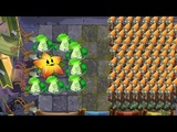 Plants vs Zombies 2 Battlez - Starfruit and Bonk Choy and Electric Peashoter vs All Zombies