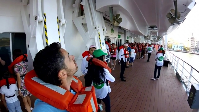 3. Покидаем Гавану на круизном лайнере MSC Armonia.