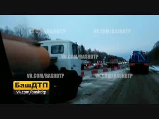 Трасса Уфа - Оренбург 13.12.18
