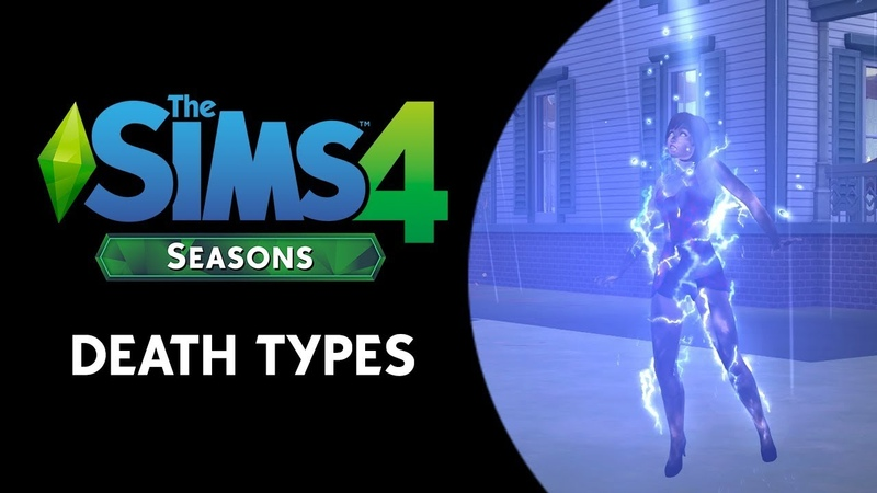 The Sims 4 Seasons: Death by Lightning, Overheating, and Freezing