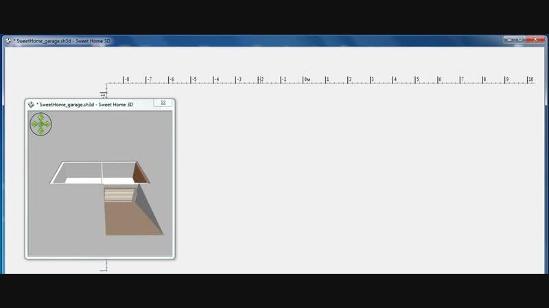 Sweet Home 3D - Урок №12. Темы_ текстуры, пандус п