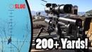200 Yards PCP Airgun Hunting - Pushing the Limits!
