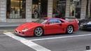 Ferrari F40 на улицах Женевы