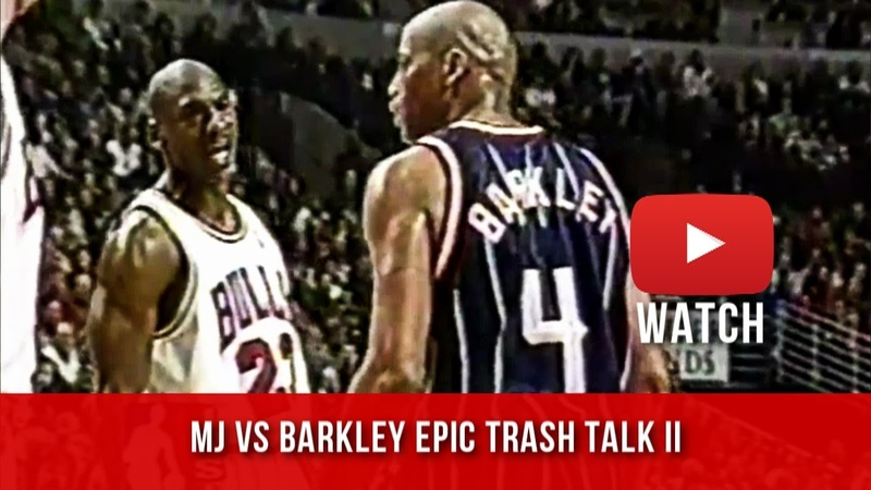 Charles Barkley Yells at Refs I know he's Michael Jordan but it's a damn foul