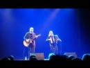 2018.03.16 JP Leppäluoto Netta Skog Acoustic - Holy Diver (Ylivieska)