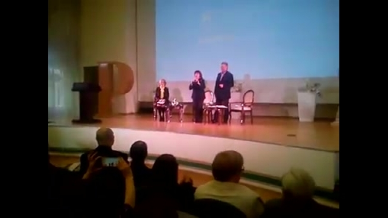 MIREILLE MATHIEU МИРЕЙ МАТЬЕ at Pushkin State Russian Language Institute 15 March 2018