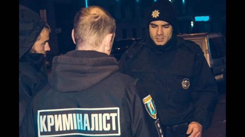В Киеве возле НСК Олимпийский водитель Uber зажал руку полицейского стеклом и протащил за собой
