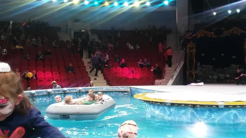 Цирк на воде 😀🎪👍