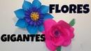 Flor de papel GIGANTE ❁FOZITA INIESTA❁