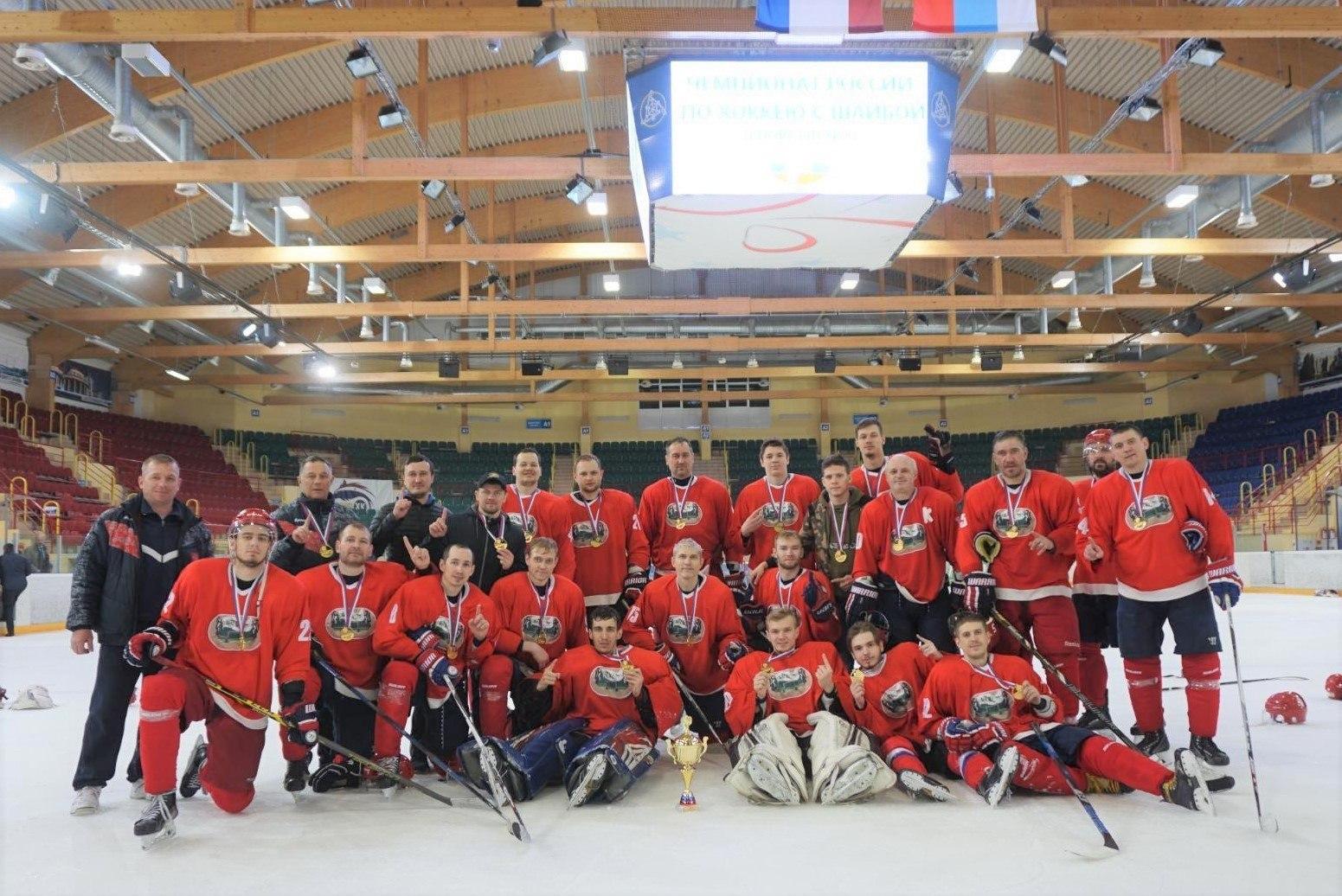 Новосибирские хоккеисты с нарушениями слуха стали чемпионами России