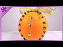 DIY Clove orange decoration ENG Subtitles - Speed up 50