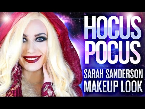 ❤️ Hocus Pocus Sarah Sanderson Halloween Makeup Tutorial Victoria Lyn Beauty