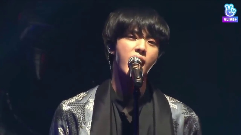 LIVE BTS JIN V Even If I Die, It's You Hwarang OST @Festa2018