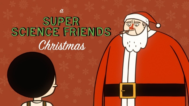 Super Science Friends Christmas Episode rus sub