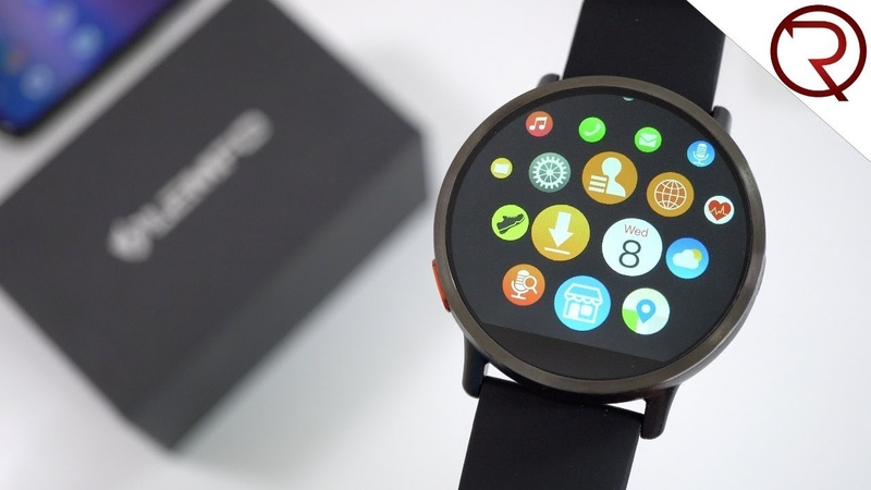 LEMFO LEM X Smartwatch First Look and Hands On 4G Android 7 1 900mAh battery