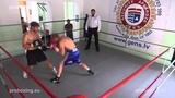 Jevgenijs Fjodorovs 65,0 kg. VS Igors Savluks 65,2 kg. proboxing.eu