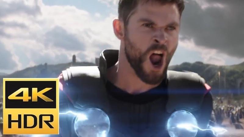 Подать Мне ТАНОСА!Бойня Тора и Чёрного Ордена. Мстители: Война Бесконечности 4K Ulta Movie