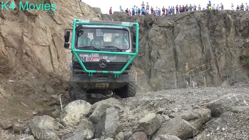 8X8 Mercedes-Benz truck _ Truck trial _ Tegau 2017 _ no. 501