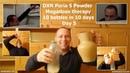 DXN Poria S Powder Megadose therapy: 10 bottles in 10 days - day 5