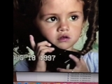 Мэнди Тифи в Instagram @selenagomez talking to me on the phone when I was at work asking about her day at school. My sassy,