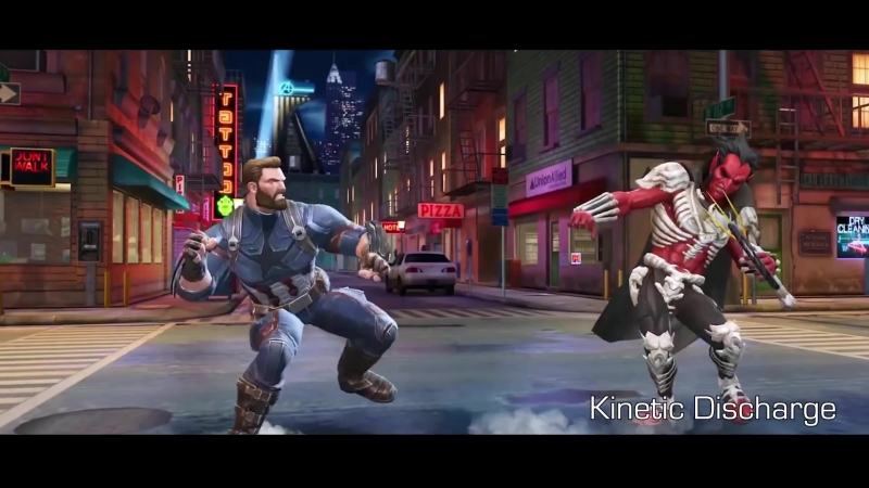 Captain America (Infinity War) Капитан Америка (Война Бесконечности) | Marvel Contest of Champions