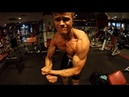 Aesthetic posing in Cinema lighting 8 Days out Mens Physique