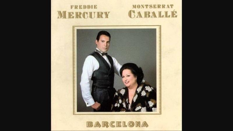 Freddie Mercury and Montserrat Caballe - Ensueno - Barcelona - LYRICS (1988) HQ