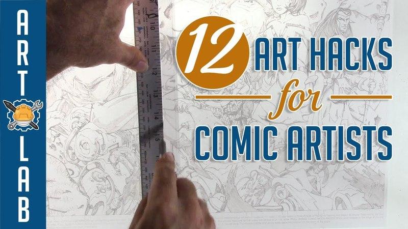 12 Art Hacks for Comic Book Artists!