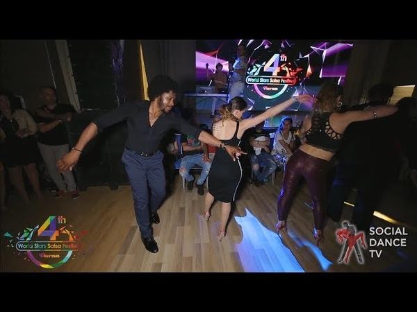 Terry SalsAlianza Bella - Salsa social dancing | 4th World Stars Salsa Festival