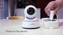 SANNCE домашняя охранная ip камера Wi Fi беспроводная мини сетевая камера видеонаблюдения Wifi 720 P