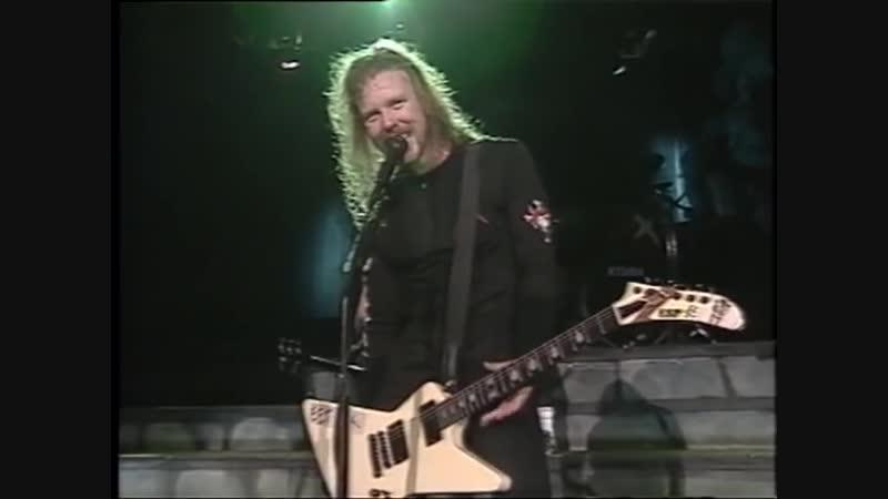 METALLICA - LIVE IN MOUNTAIN. 1989