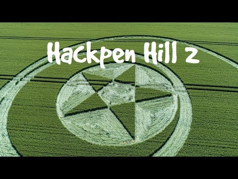 Crop Circle - Hackpen Hill 2 - Misty Low Atmospheric Flight