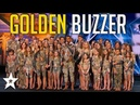 Sensational Dance Crew Get Tyra Banks GOLDEN BUZZER on America's Got Talent Got Talent Global